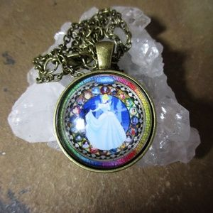Jewelry - Cinderella Disney Princess pendant necklace 989